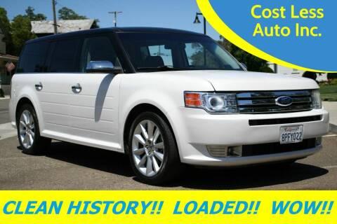 2011 Ford Flex for sale at Cost Less Auto Inc. in Rocklin CA