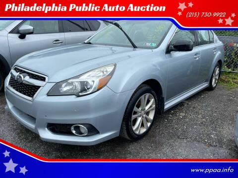 2014 Subaru Legacy for sale at Philadelphia Public Auto Auction in Philadelphia PA