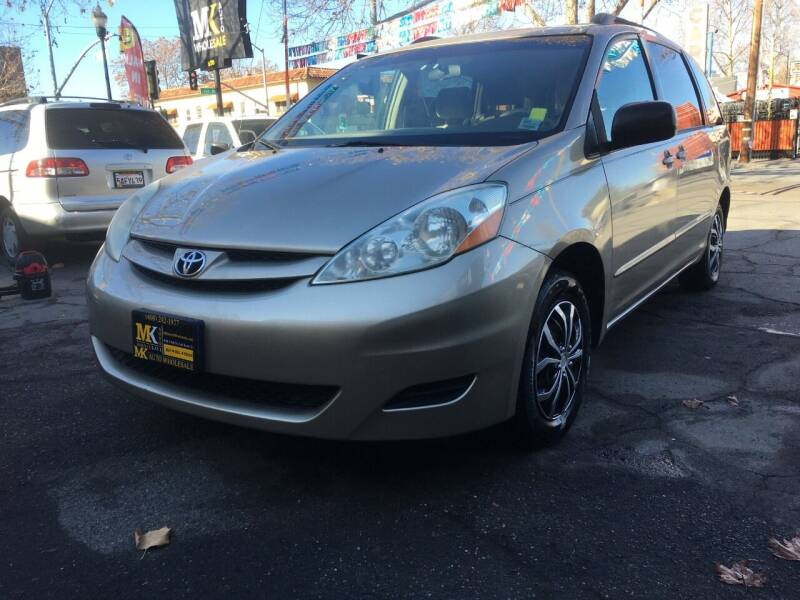 2006 Toyota Sienna for sale at MK Auto Wholesale in San Jose CA