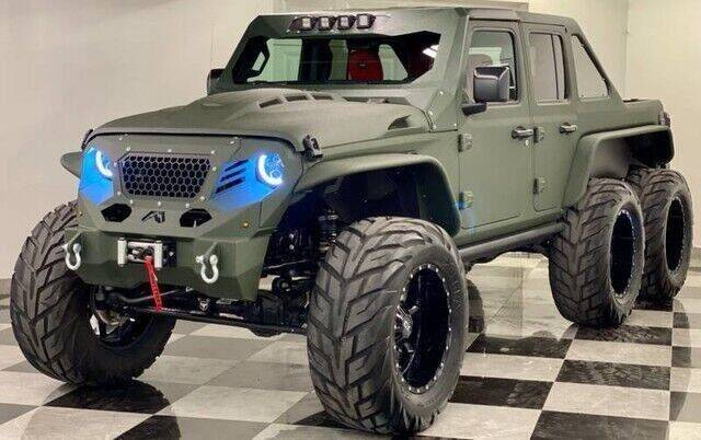2021 Apocalypse Sinister 6x6 for sale at South Florida Jeeps in Fort Lauderdale FL