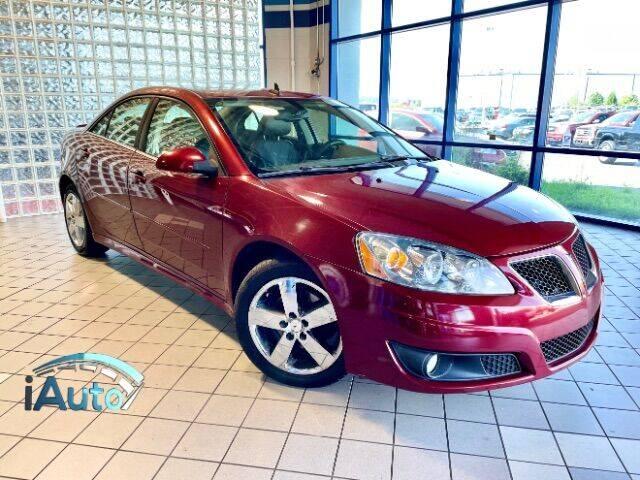 2010 Pontiac G6 for sale at iAuto in Cincinnati OH