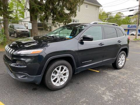 2015 Jeep Cherokee for sale at AMERI-CAR & TRUCK SALES INC in Haskell NJ