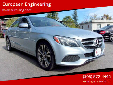 2017 Mercedes-Benz C-Class for sale at European Engineering in Framingham MA
