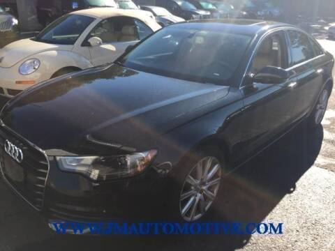 2013 Audi A6 for sale at J & M Automotive in Naugatuck CT