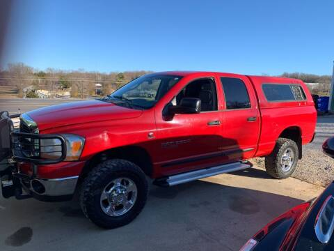 2006 Dodge Ram Pickup 2500 for sale at Steve's Auto Sales in Harrison AR