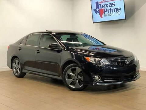 2012 Toyota Camry for sale at Texas Prime Motors in Houston TX