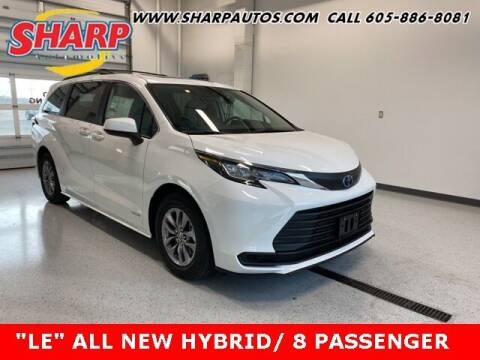 2021 Toyota Sienna for sale at Sharp Automotive in Watertown SD