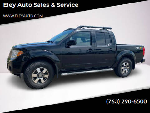 2013 Nissan Frontier for sale at Eley Auto Sales & Service in Loretto MN