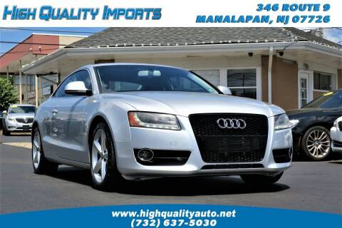 2009 Audi A5 for sale at High Quality Imports in Manalapan NJ