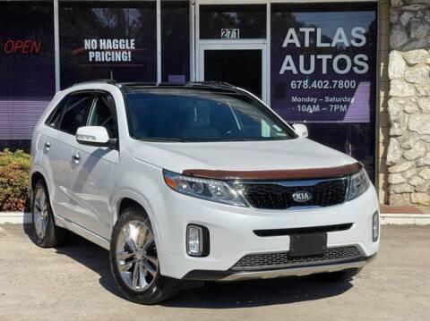 2014 Kia Sorento for sale at ATLAS AUTOS in Marietta GA