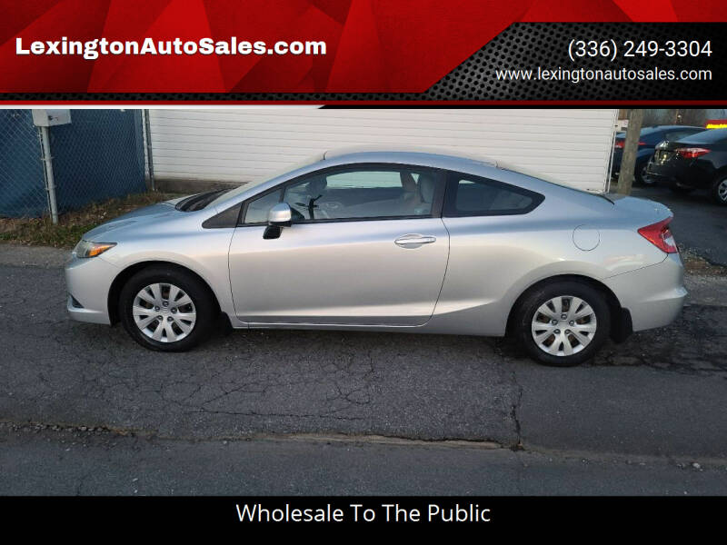 2012 Honda Civic for sale at LexingtonAutoSales.com in Lexington NC