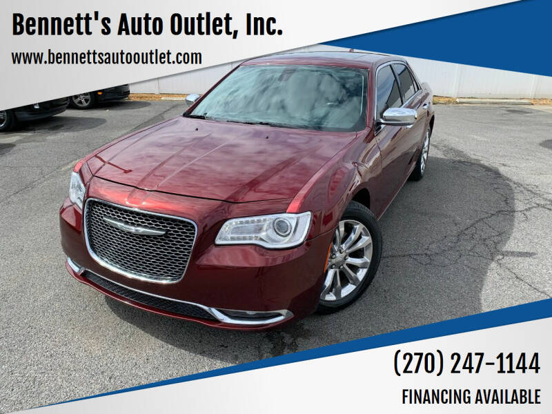 2016 Chrysler 300 for sale at Bennett's Auto Outlet, Inc. in Mayfield KY