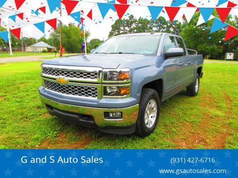 2015 Chevrolet Silverado 1500 for sale at G and S Auto Sales in Ardmore TN