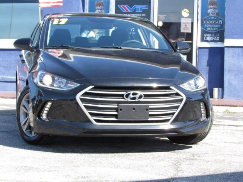 2017 Hyundai Elantra for sale at VIP AUTO ENTERPRISE INC. in Orlando FL