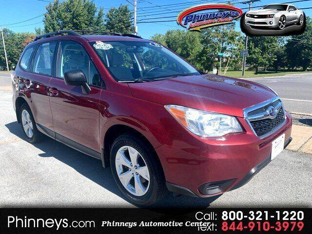 2015 Subaru Forester for sale at Phinney's Automotive Center in Clayton NY