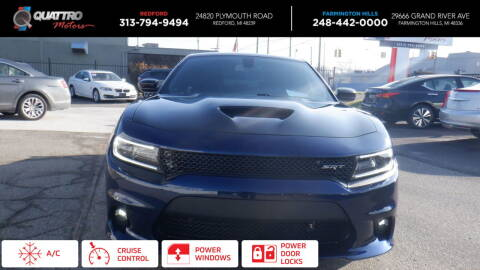 2015 Dodge Charger for sale at Quattro Motors 2 - 1 in Redford MI