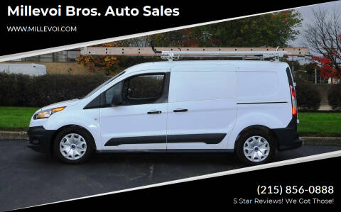 2017 Ford Transit Connect Cargo for sale at Millevoi Bros. Auto Sales in Philadelphia PA