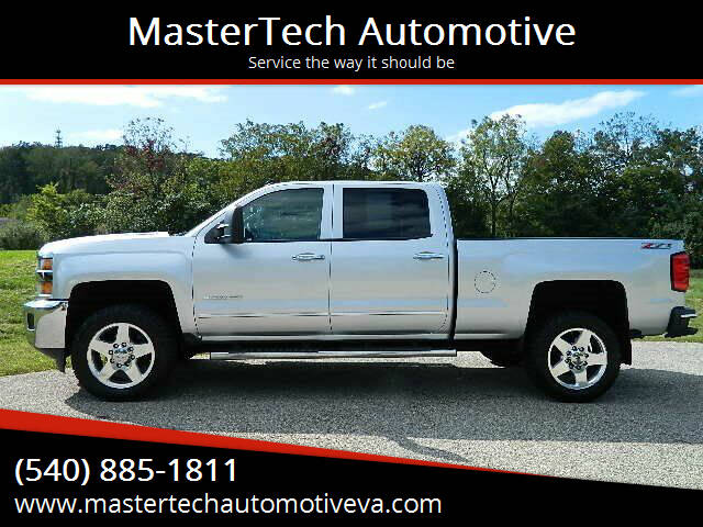 2015 Chevrolet Silverado 2500HD for sale at MasterTech Automotive in Staunton VA