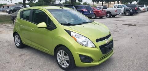2013 Chevrolet Spark for sale at C.J. AUTO SALES llc. in San Antonio TX