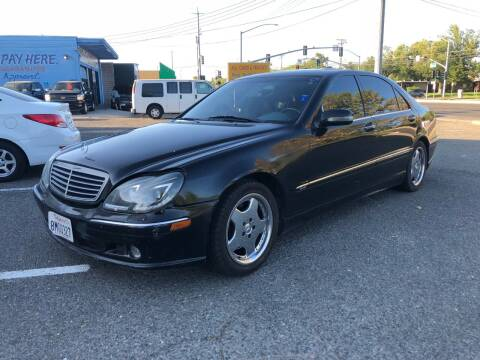 2000 Mercedes-Benz S-Class for sale at All Cars & Trucks in North Highlands CA
