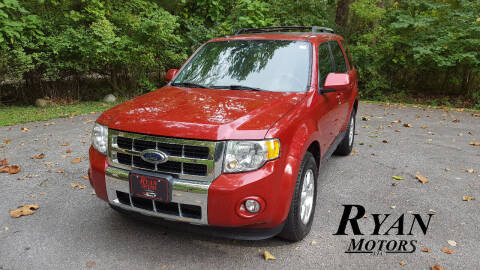 2010 Ford Escape for sale at Ryan Motors LLC in Warsaw IN