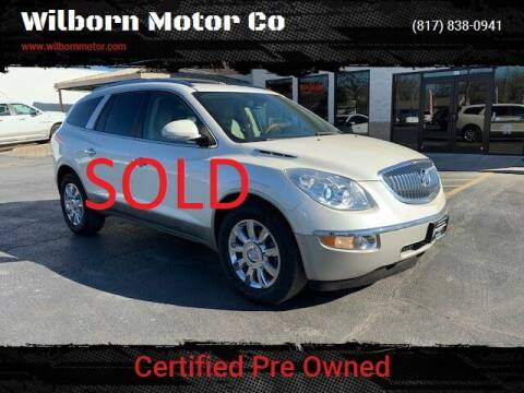 2011 Buick Enclave for sale at Wilborn Motor Co in Fort Worth TX