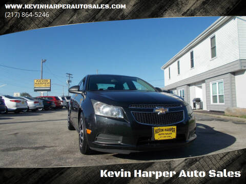 2012 Chevrolet Cruze for sale at Kevin Harper Auto Sales in Mount Zion IL
