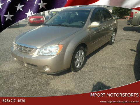 2006 Kia Spectra for sale at IMPORT MOTORSPORTS in Hickory NC