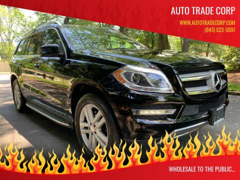 2015 Mercedes-Benz GL-Class for sale at AUTO TRADE CORP in Nanuet NY