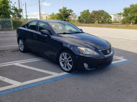 2007 Lexus IS 250 for sale at UNITED AUTO BROKERS in Hollywood FL