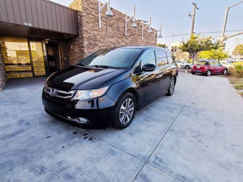 2014 Honda Odyssey for sale at Masi Auto Sales in San Diego CA
