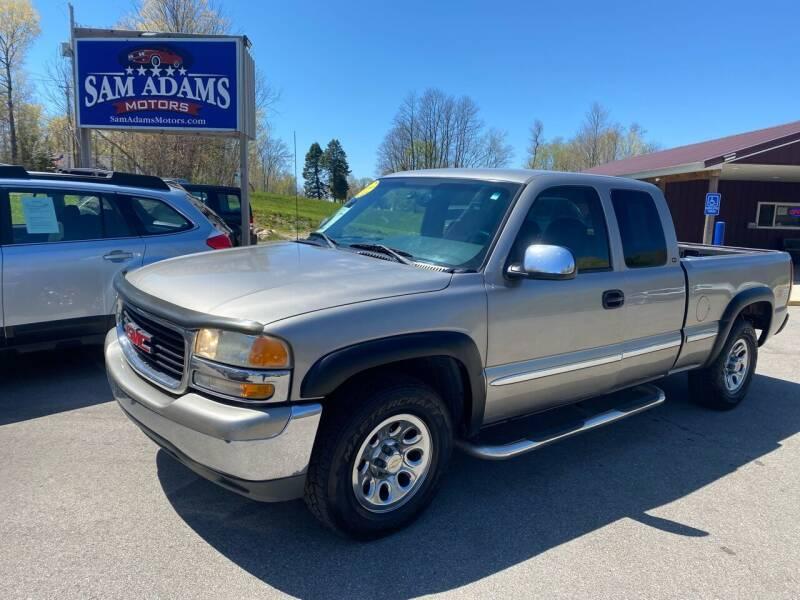 2000 GMC Sierra 1500 for sale at Sam Adams Motors in Cedar Springs MI