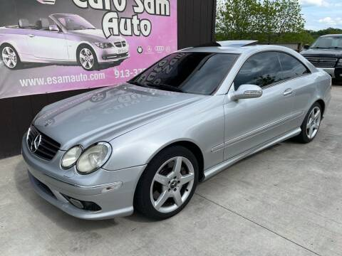 2005 Mercedes-Benz CLK for sale at Euro Auto in Overland Park KS