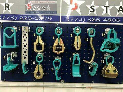 2020 13 PIECE AUTO BODY PULLING TOOLS AND CLAMPS SET for sale at Kamran Auto Exchange Inc in Kenosha WI