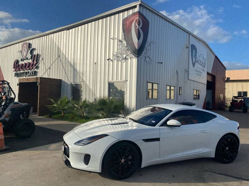 2020 Jaguar F-TYPE for sale at Barrett Auto Gallery in San Juan TX