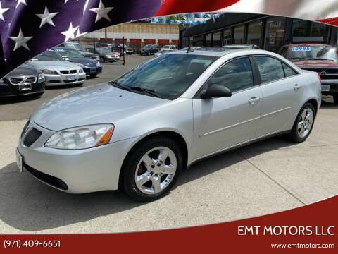 2009 Pontiac G6 for sale at EMT MOTORS LLC in Portland OR