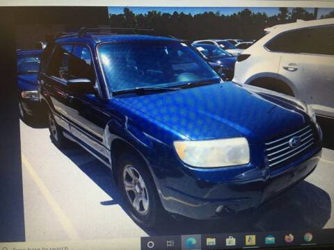 2006 Subaru Forester for sale at UpCountry Motors in Taylors SC