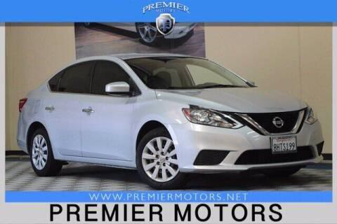 2017 Nissan Sentra for sale at Premier Motors in Hayward CA