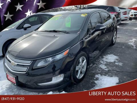 2013 Chevrolet Volt for sale at Liberty Auto Sales in Elgin IL