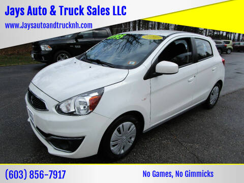 2017 Mitsubishi Mirage for sale at Jays Auto & Truck Sales LLC in Loudon NH