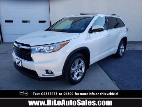 2016 Toyota Highlander for sale at BuyFromAndy.com at Hi Lo Auto Sales in Frederick MD
