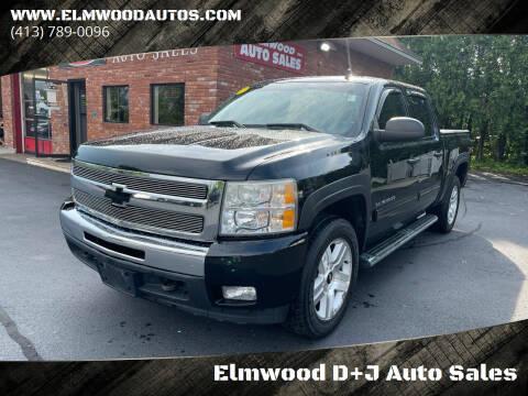 2010 Chevrolet Silverado 1500 for sale at Elmwood D+J Auto Sales in Agawam MA