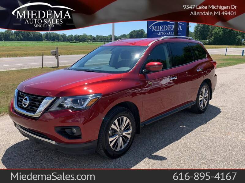 2018 Nissan Pathfinder for sale at Miedema Auto Sales in Allendale MI