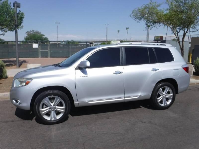 2008 Toyota Highlander for sale at J & E Auto Sales in Phoenix AZ
