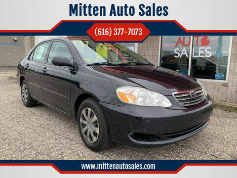 2007 Toyota Corolla for sale at Mitten Auto Sales in Holland MI