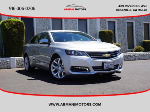 2015 Chevrolet Impala for sale at Armani Motors in Roseville CA