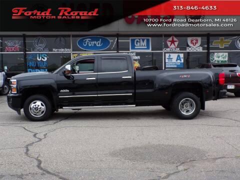 2018 Chevrolet Silverado 3500HD for sale at Ford Road Motor Sales in Dearborn MI