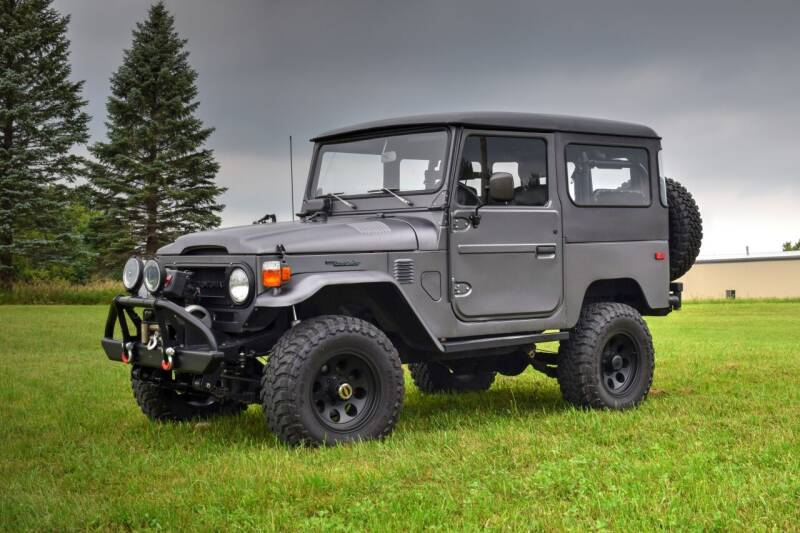 1975 Toyota FJ Cruiser for sale at Hooked On Classics in Watertown MN