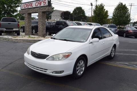 2004 Toyota Camry for sale at I-DEAL CARS in Camp Hill PA