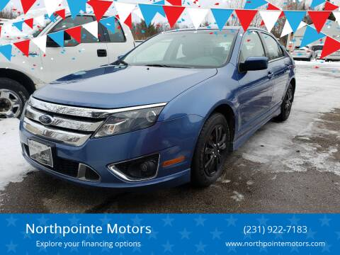 2010 Ford Fusion for sale at Northpointe Motors in Kalkaska MI